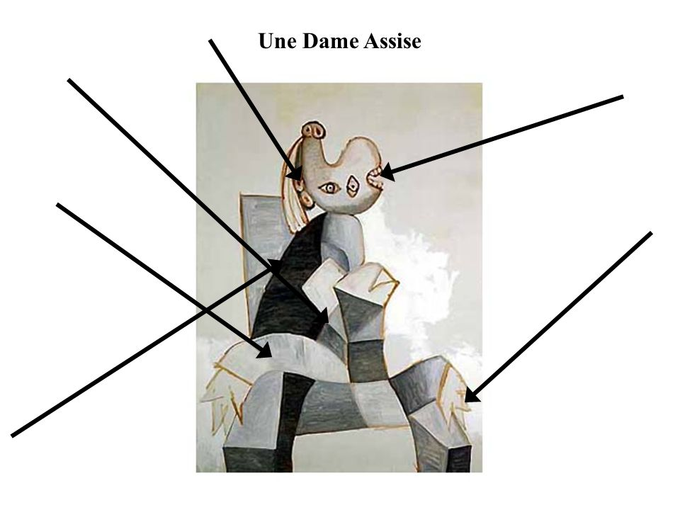 Une Dame Assise