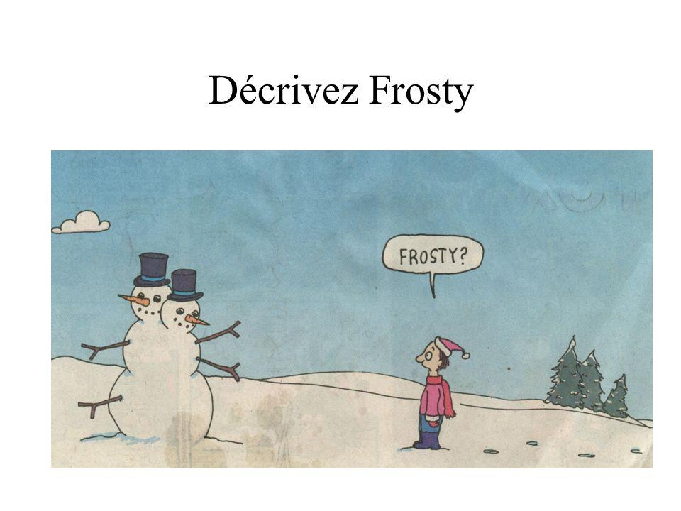 Décrivez Frosty
