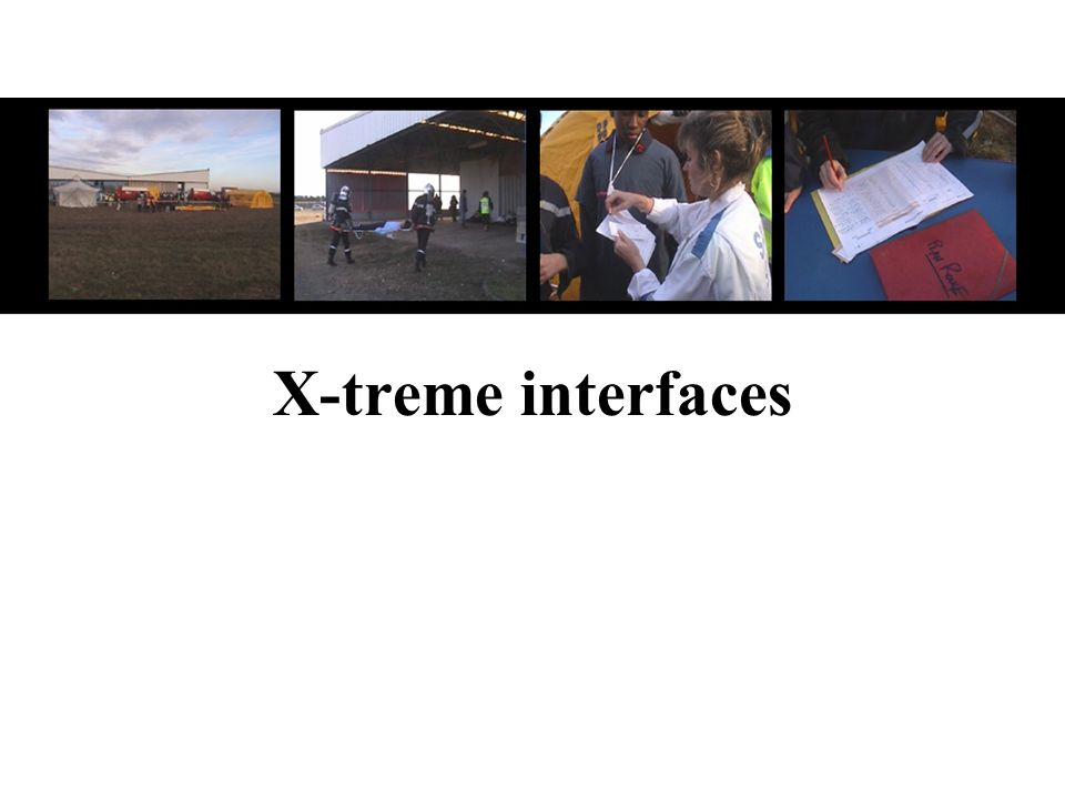 X-treme interfaces