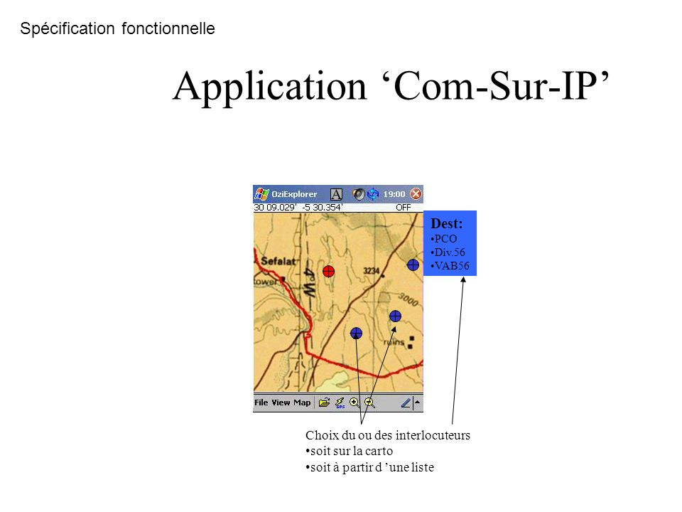 Application 'Com-Sur-IP'