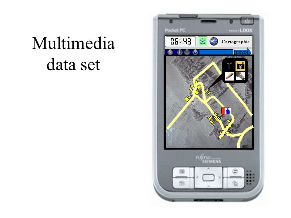 Multimedia data set Cartographie ENVOI T HOME
