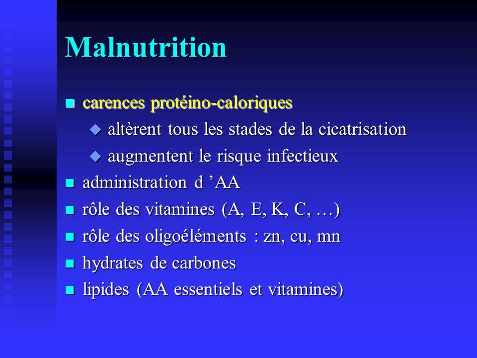 Malnutrition carences protéino-caloriques