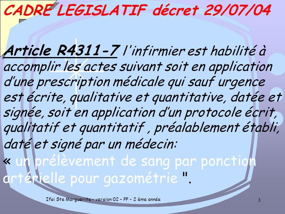 Ifsi Ste Marguerite - version 02 - PP - 2 ème année