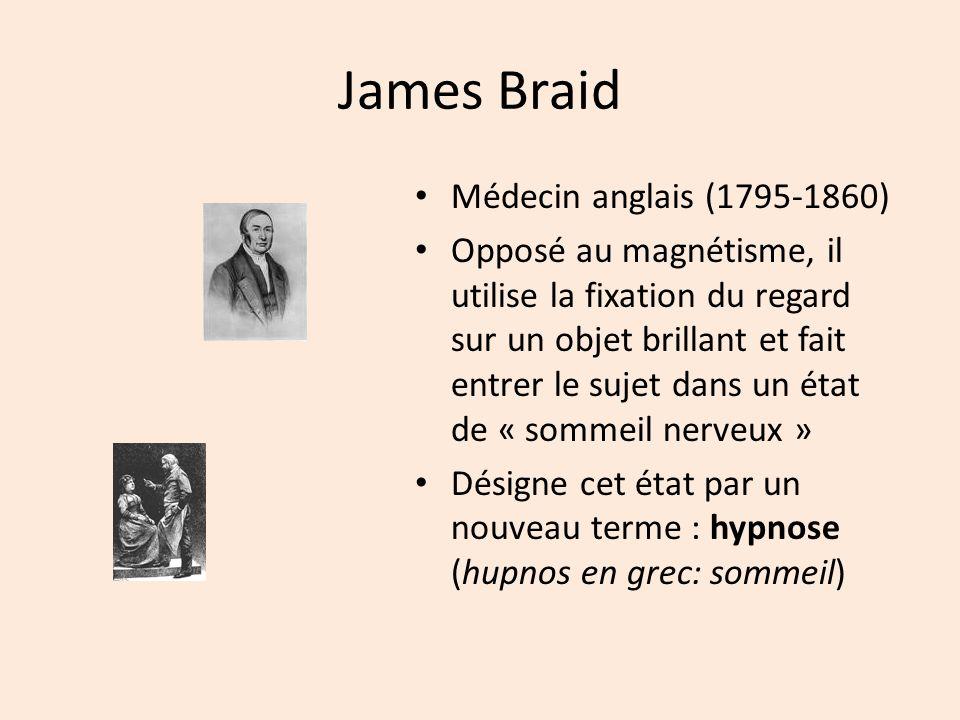 James Braid Médecin anglais (1795-1860)