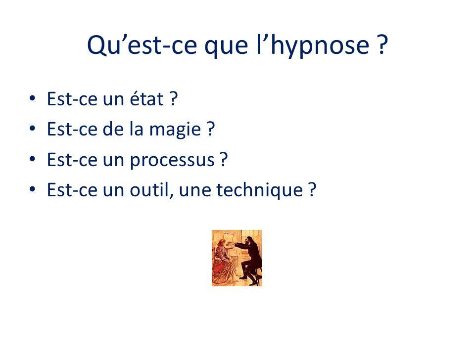 Qu'est-ce que l'hypnose