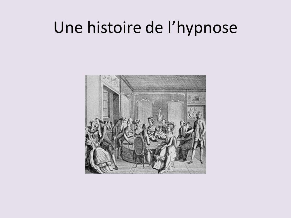 Une histoire de l'hypnose