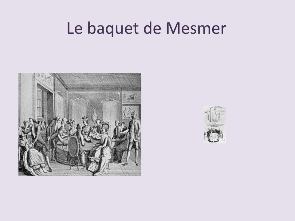Le baquet de Mesmer
