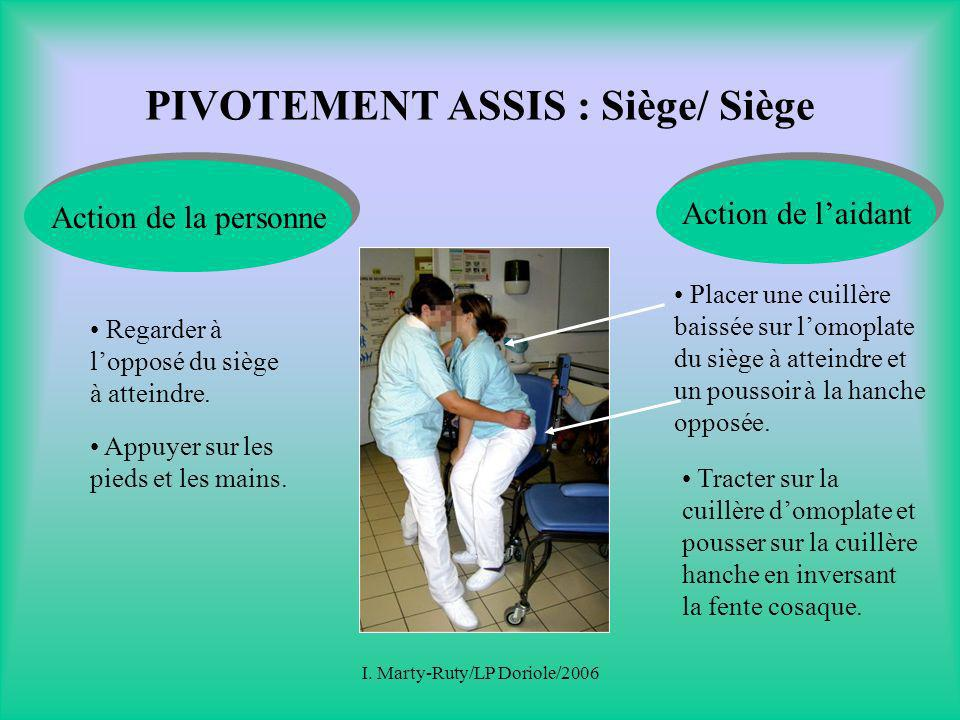 PIVOTEMENT ASSIS : Siège/ Siège