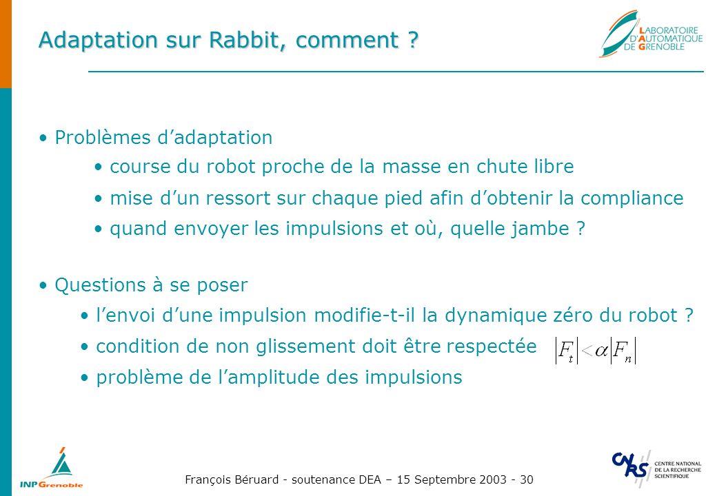 Adaptation sur Rabbit, comment