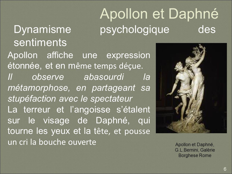 Apollon et Daphné, G.L.Bernini, Galèrie Borghese Rome