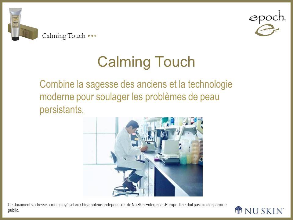 Calming Touch Combine la sagesse des anciens et la technologie moderne pour soulager les problèmes de peau persistants.