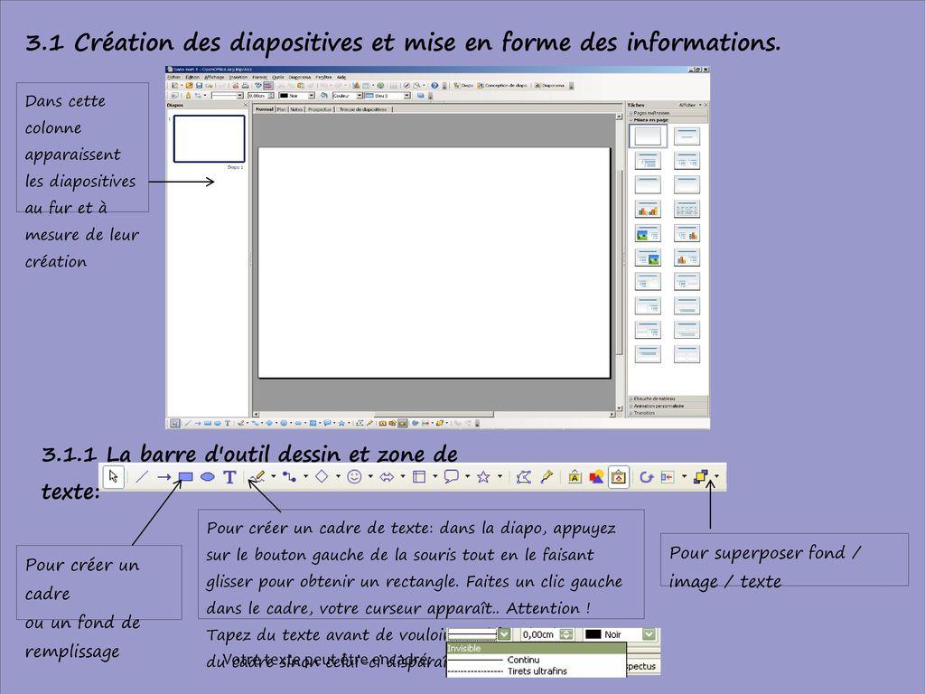 R aliser un diaporama avec le logiciel open office impress - Telecharger open office impress diaporama gratuit ...