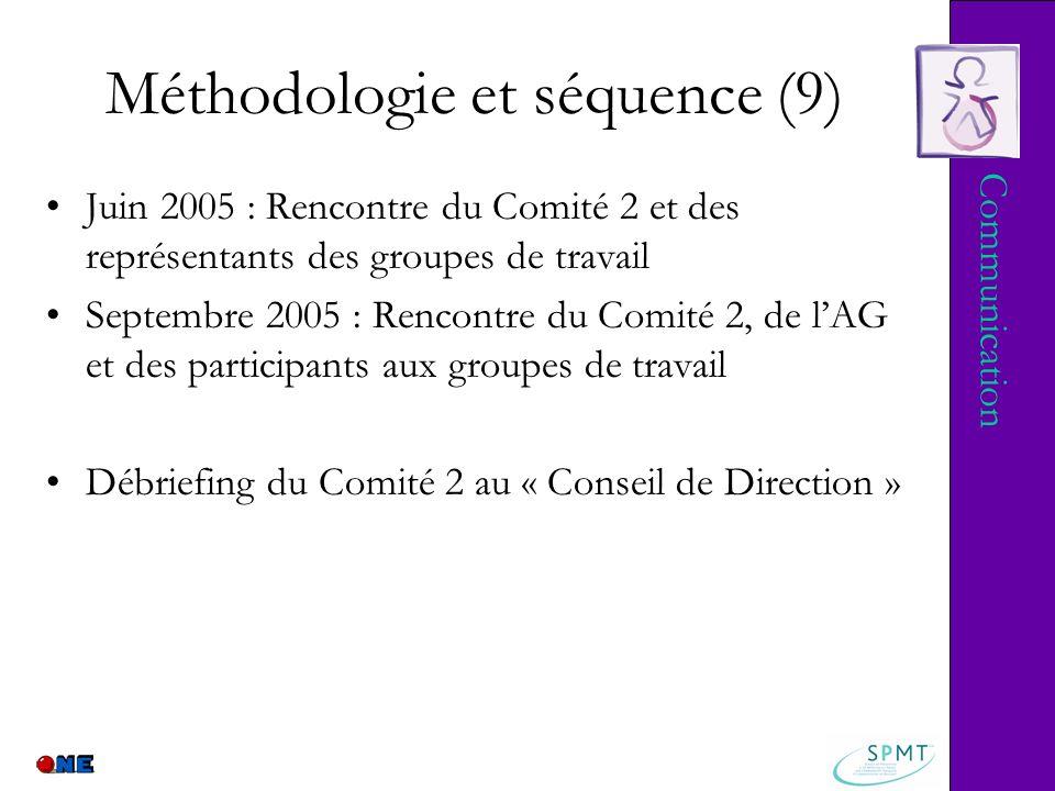 Méthodologie et séquence (9)
