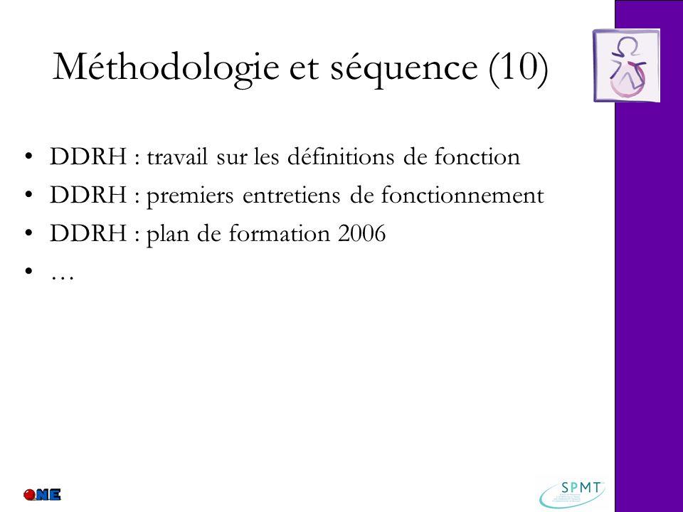 Méthodologie et séquence (10)