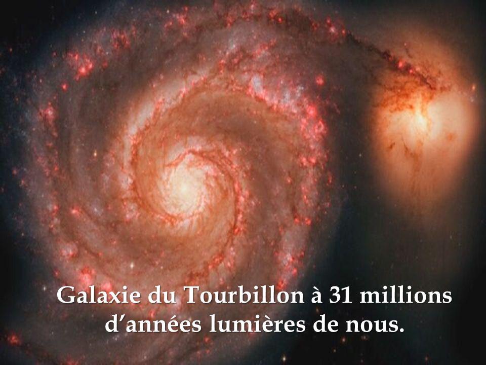 Galaxie du Tourbillon à 31 millions d'années lumières de nous.