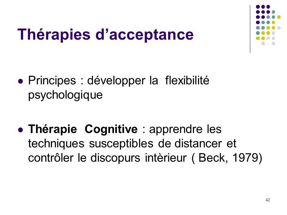 Thérapies d'acceptance