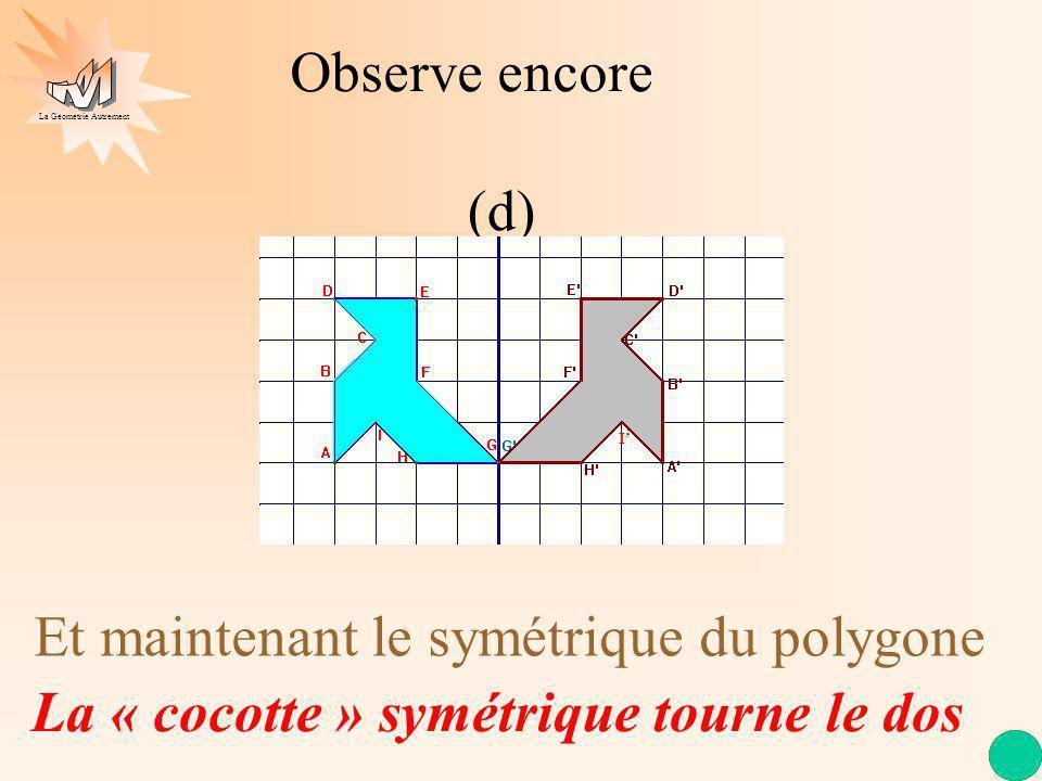 Et maintenant le symétrique du polygone
