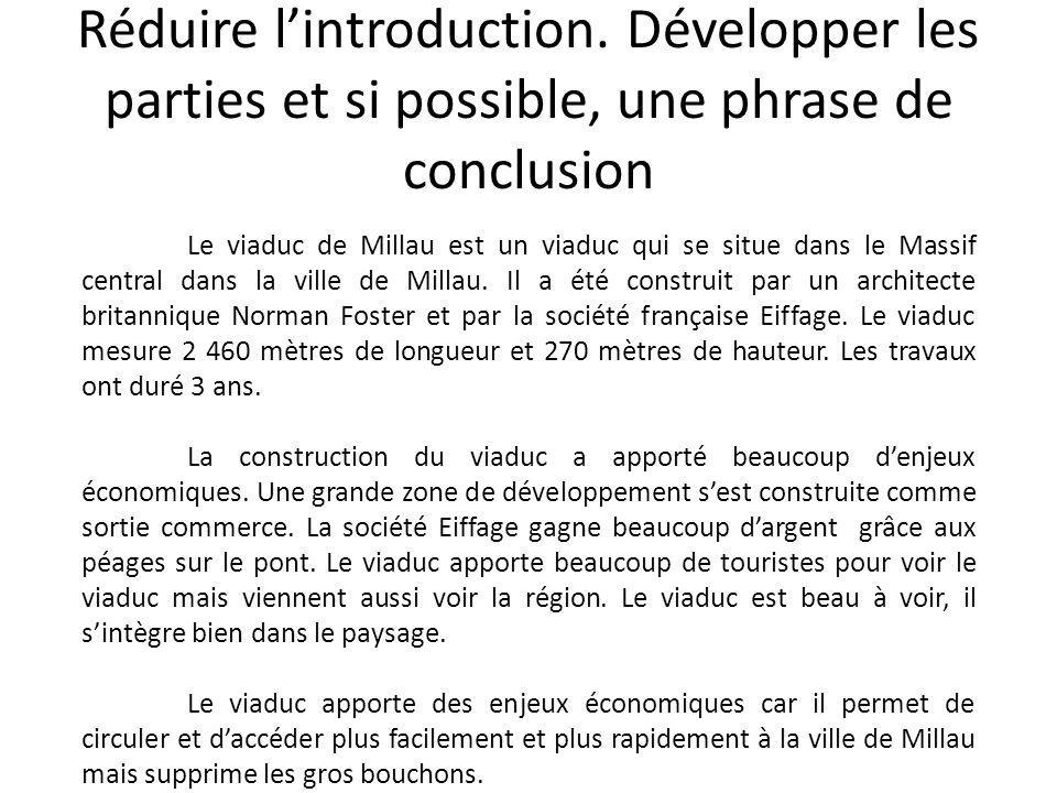 Réduire l'introduction