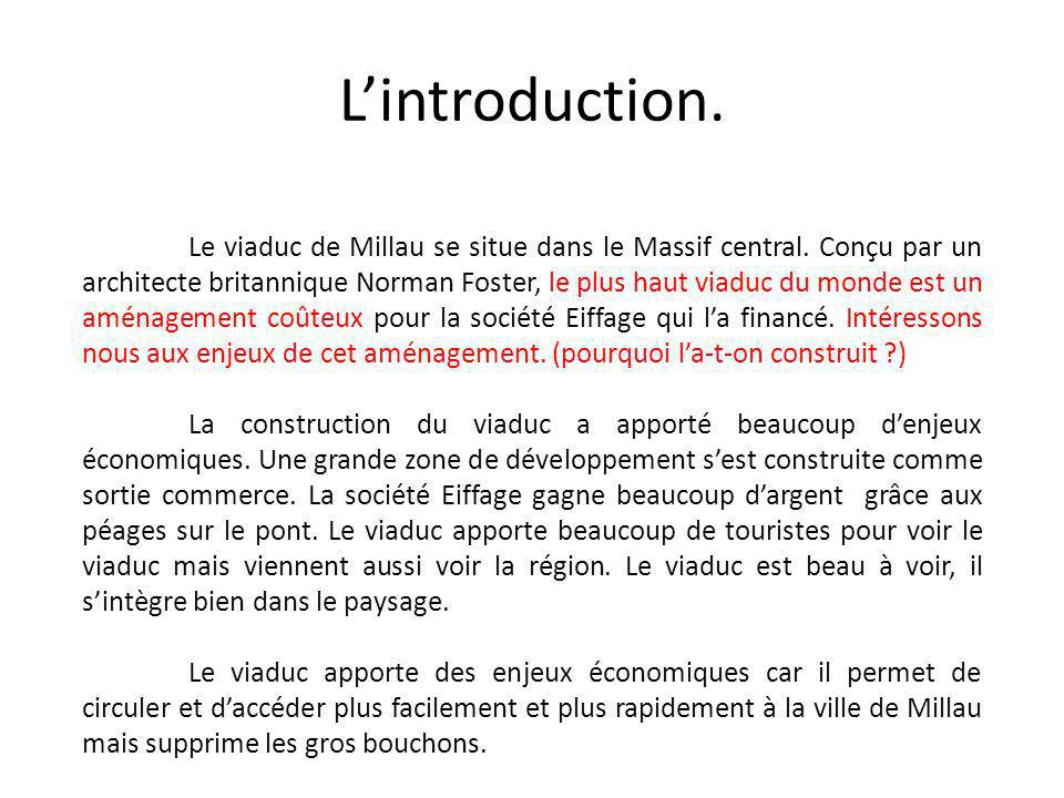 L'introduction.
