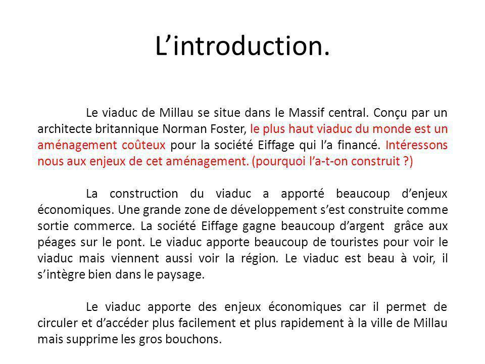 L'introduction.