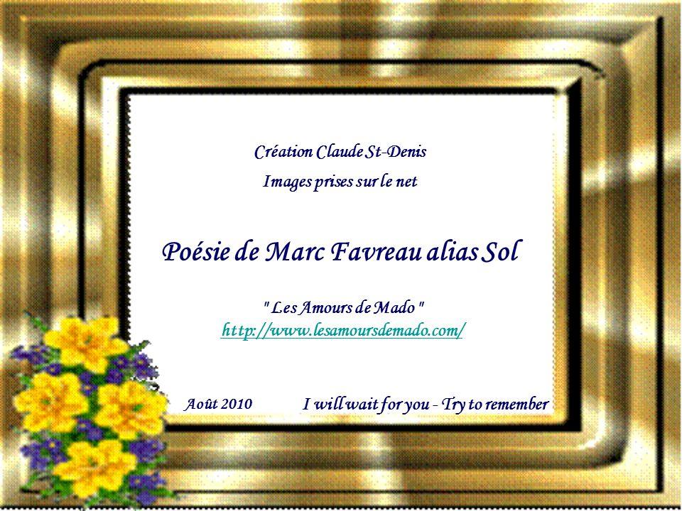 Poésie de Marc Favreau alias Sol