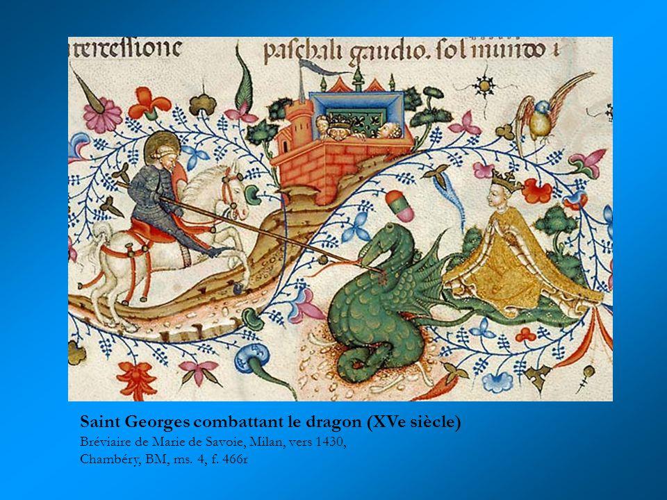 Saint Georges combattant le dragon (XVe siècle)