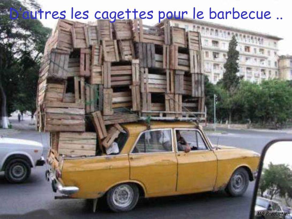 D'autres les cagettes pour le barbecue ..