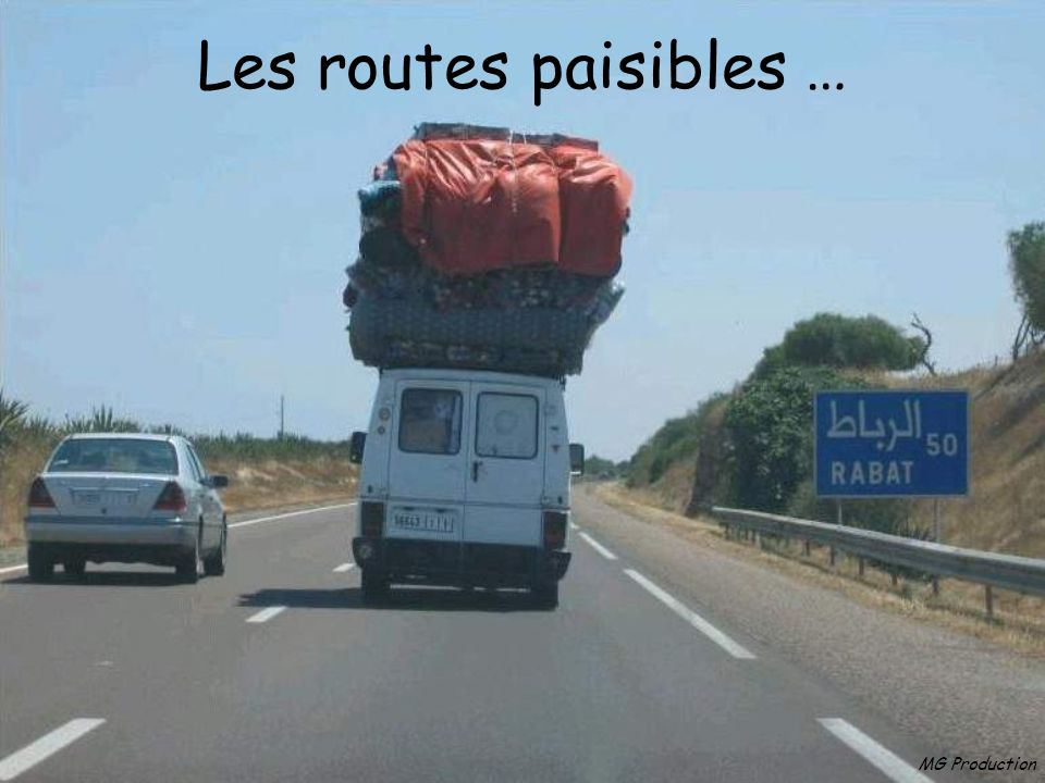 Les routes paisibles … MG Production