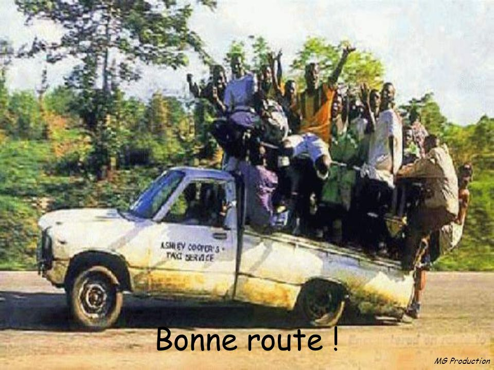 Bonne route ! MG Production