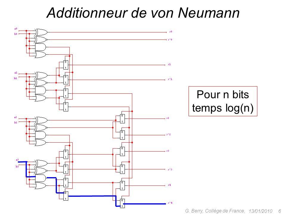 Additionneur de von Neumann