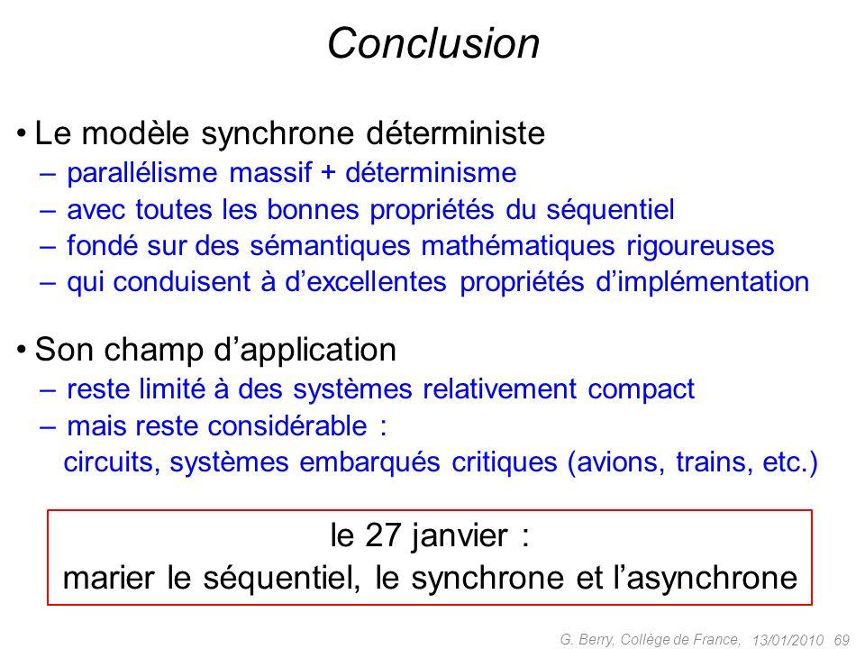 marier le séquentiel, le synchrone et l'asynchrone
