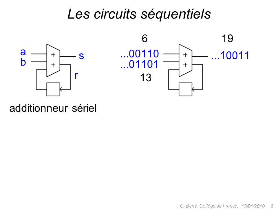 Les circuits séquentiels