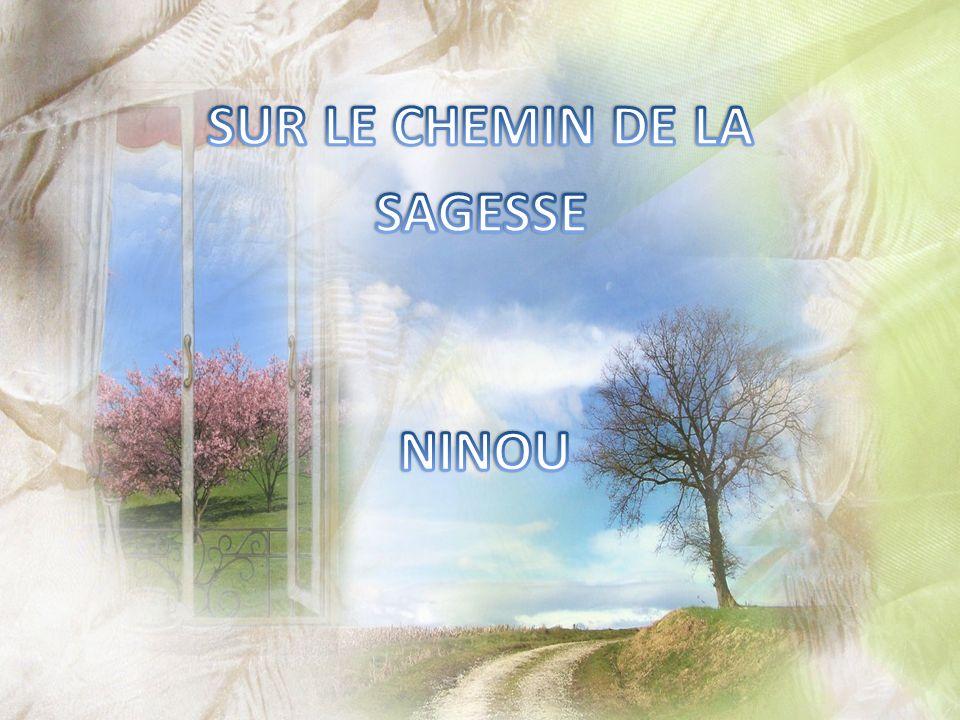 SUR LE CHEMIN DE LA SAGESSE NINOU