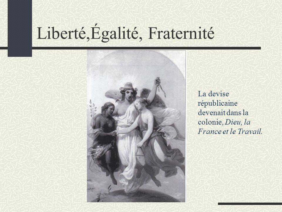 Liberté,Égalité, Fraternité