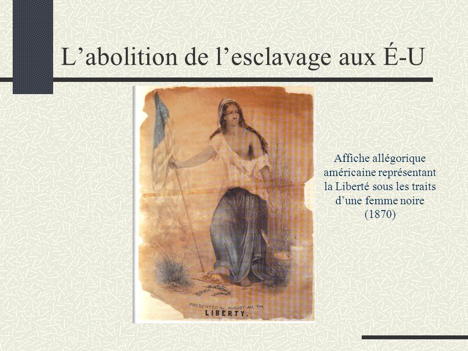 L'abolition de l'esclavage aux É-U