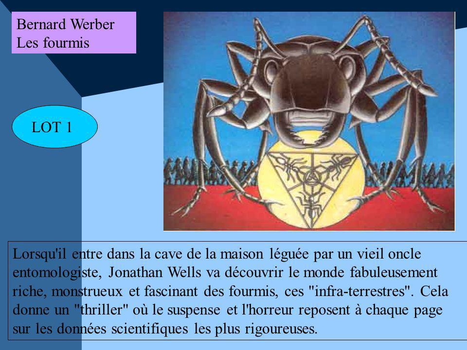 Bernard Werber Les fourmis. LOT 1.