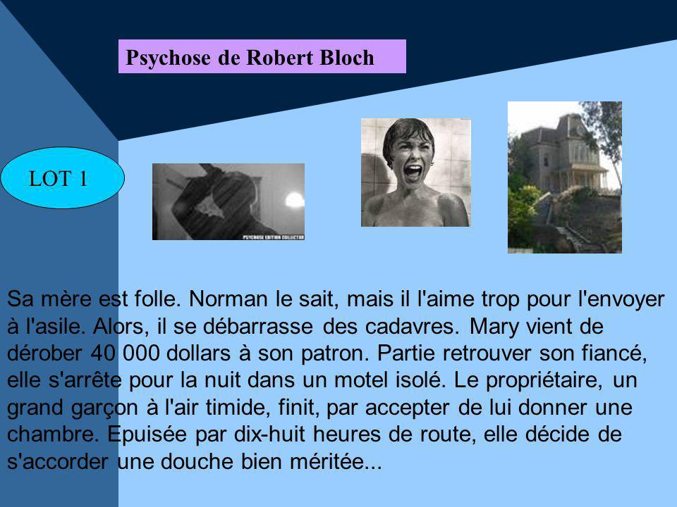 Psychose de Robert Bloch