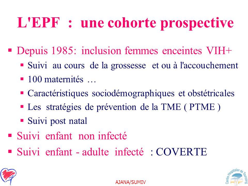 L EPF : une cohorte prospective