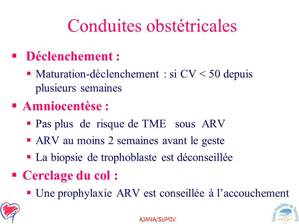 Conduites obstétricales