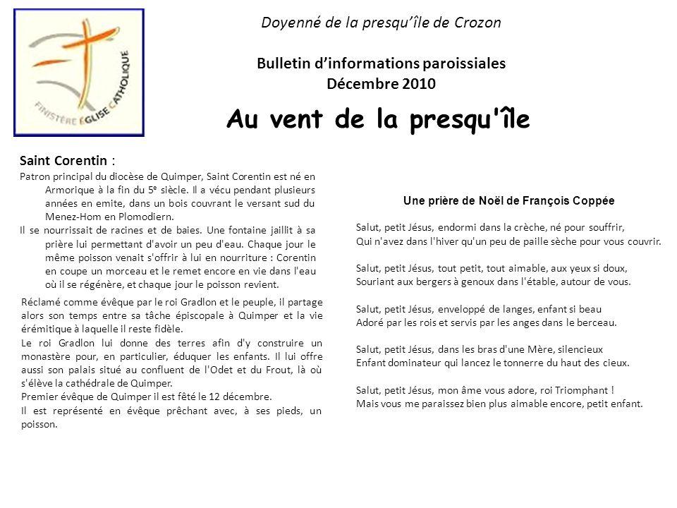 Au vent de la presqu île Doyenné de la presqu'île de Crozon