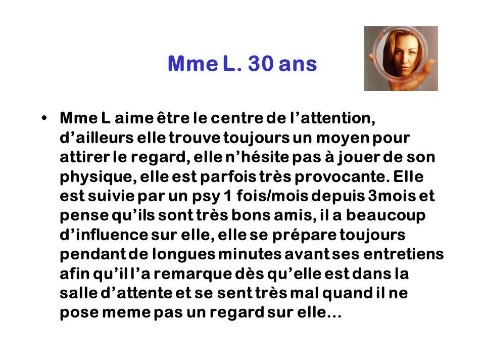 Mme L. 30 ans
