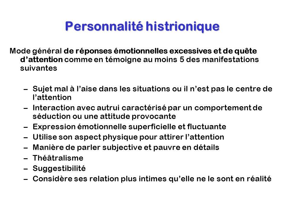Personnalité histrionique