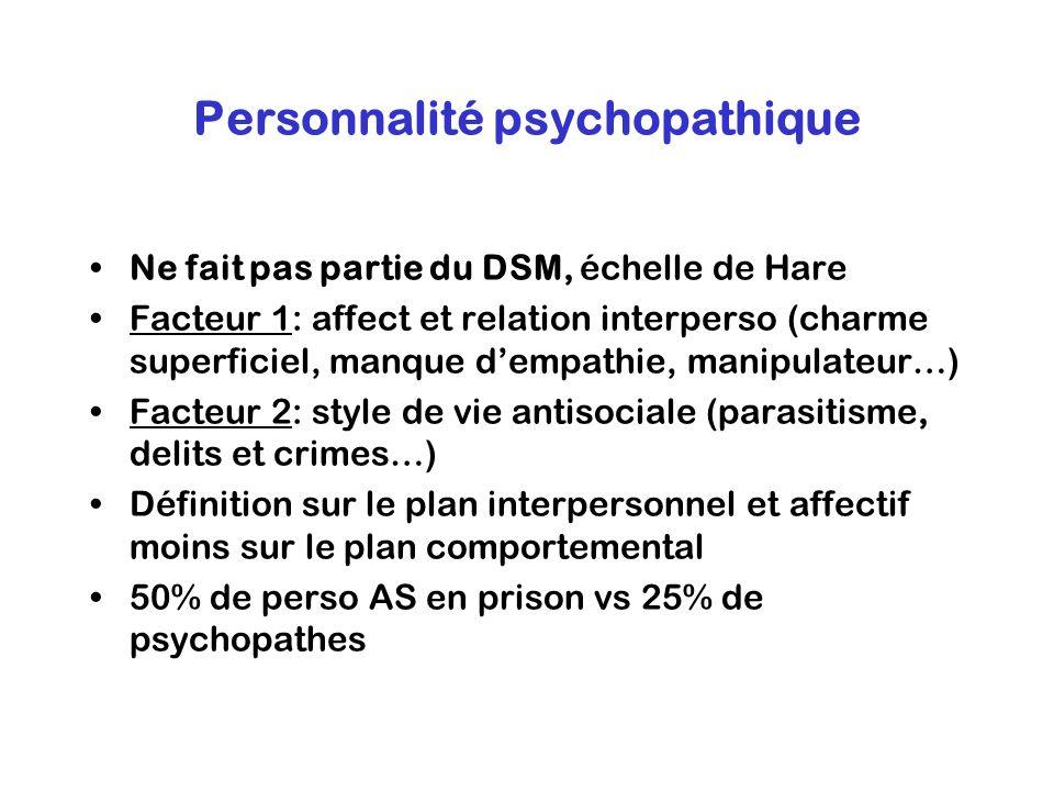Personnalité psychopathique
