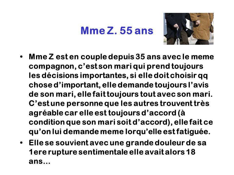 Mme Z. 55 ans