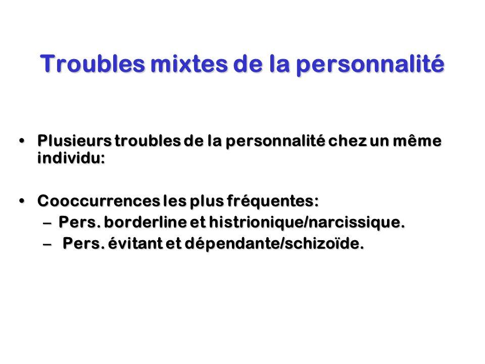 Troubles mixtes de la personnalité