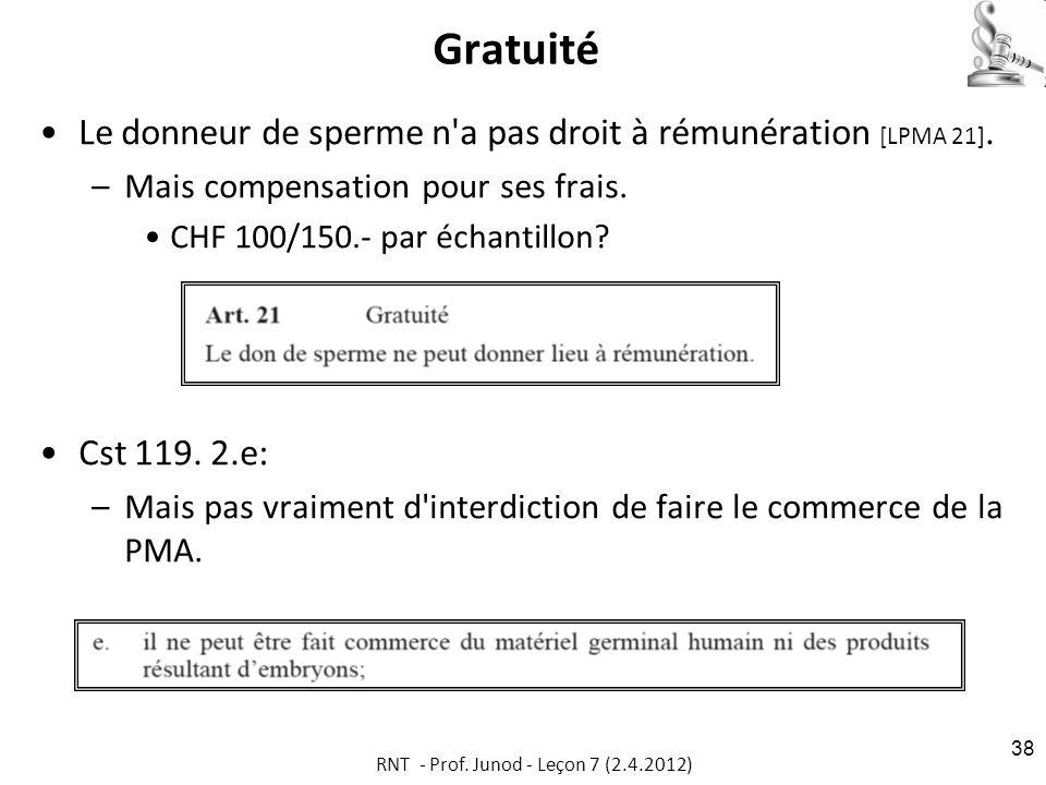 RNT - Prof. Junod - Leçon 7 (2.4.2012)