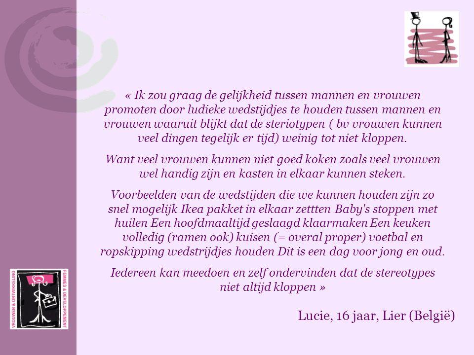 Lucie, 16 jaar, Lier (België)