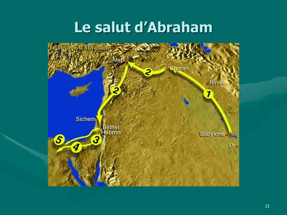 Le salut d'Abraham