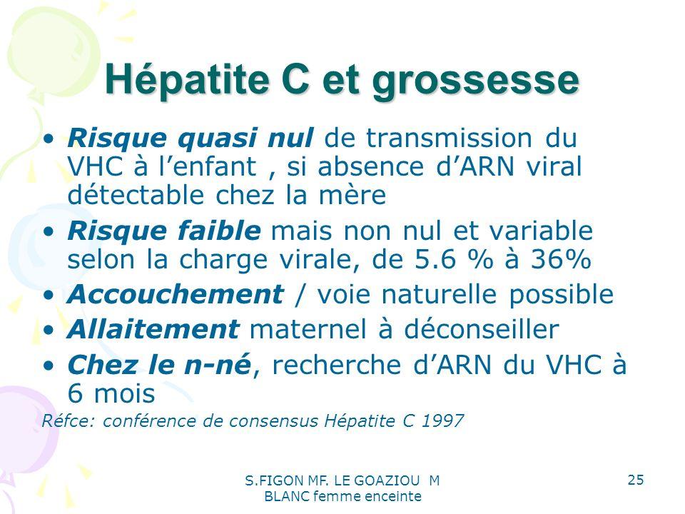 Hépatite C et grossesse