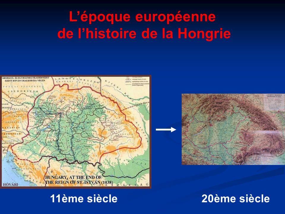 de l'histoire de la Hongrie